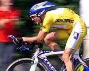 Im Team von Tour-de-France-Sieger Lance Armstrong wurde gedopt