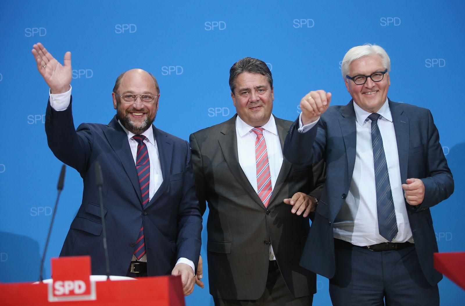 Schulz Gabriel Steinmeier