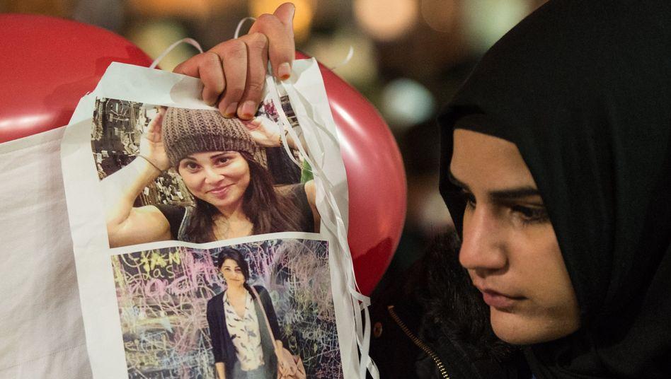 """Reaktionen zum Tod vonTugce Albayrak: """"Ein mutiges türkisches Mädchen"""""""