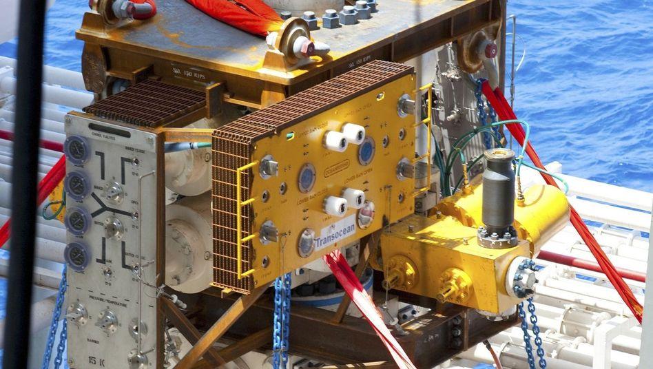 Von BP eingesetztes Gerät zur Bekämpfung der Ölpest: Eine Milliarde für künftige Notfälle