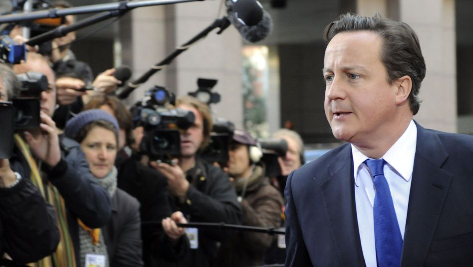 Britischer Premier Cameron: Gegenwind von allen Seiten