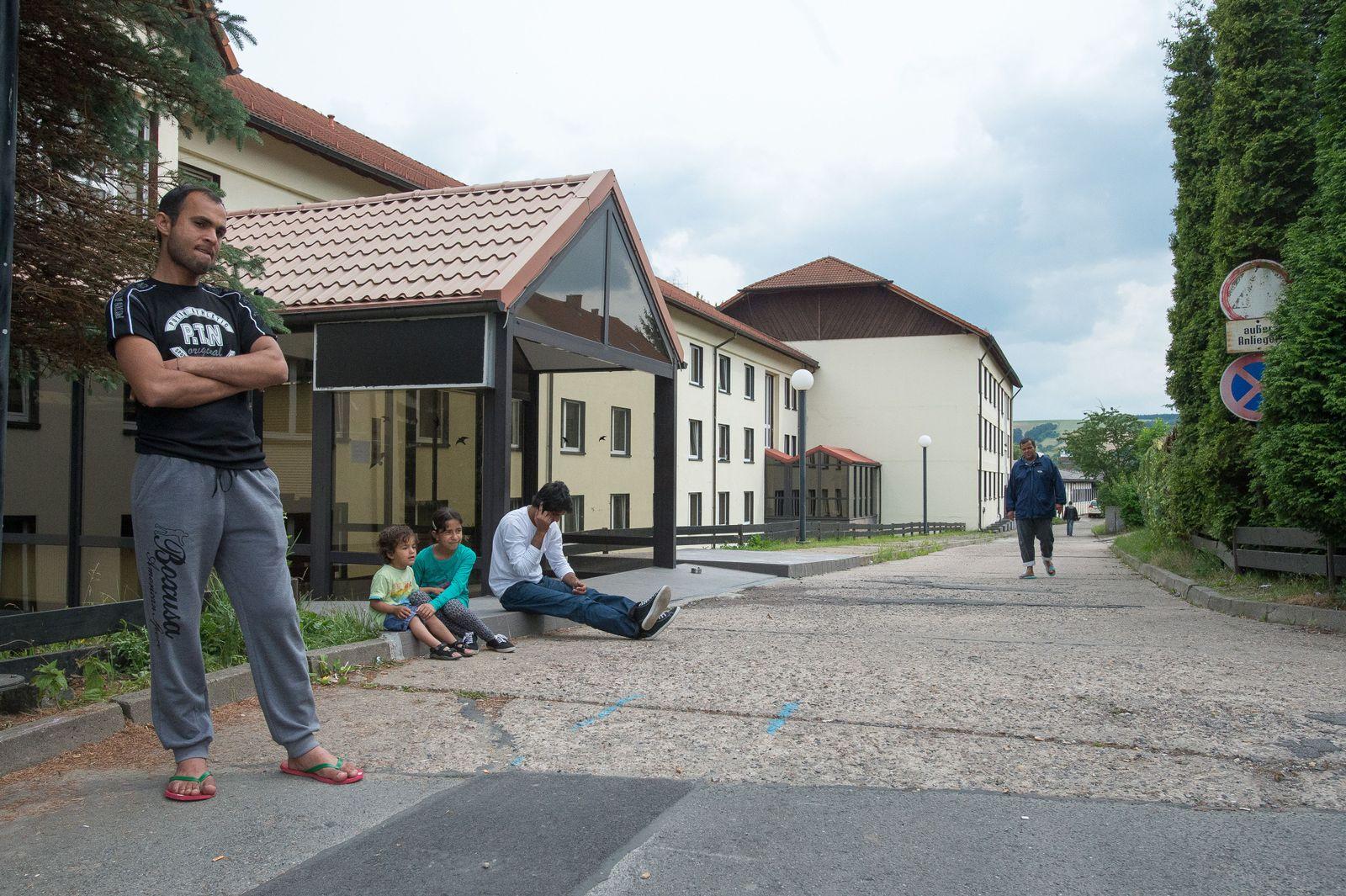 Flüchtlingsheim / Asylbewerberheim / Freital