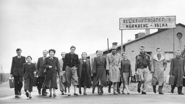 Das Nürnberger Valka-Lager - Drehtür in ein besseres Leben