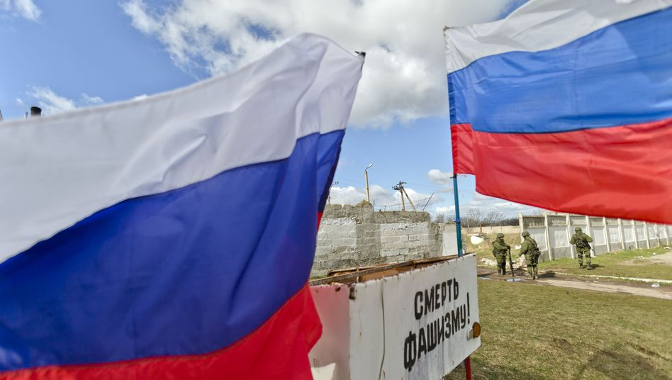 Russische Soldaten auf der Krim: Hybris des Westens