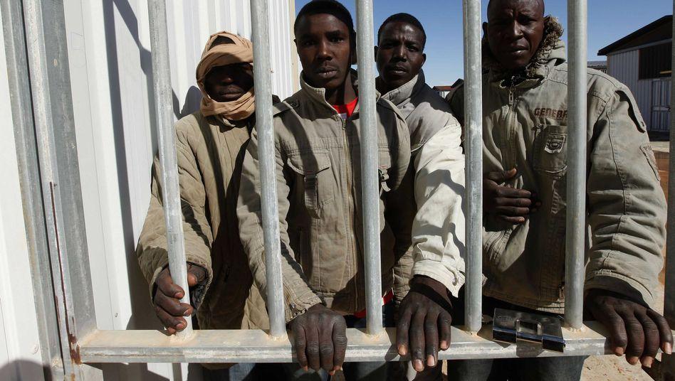 Vermutliche Gaddafi-treue Kämpfer in libyschem Gefängnis: Kritik von der Uno