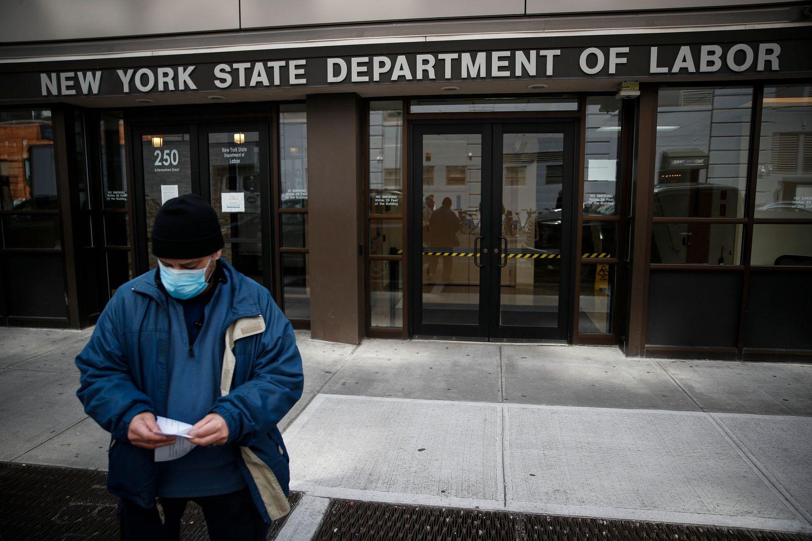 Virus Outbreak Unemployment