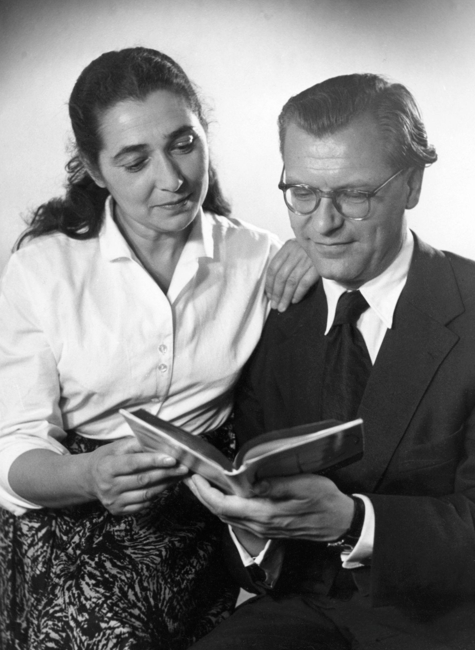 Lin Jaldati, Eberhard Rebling, Foto 1956