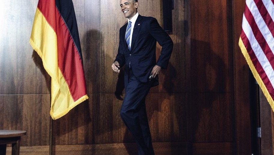 US-Präsident Obama in Berlin: Viele Botschaften zugleich
