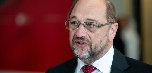 Martin Schulz soll offenbar Chef der Friedrich-Ebert-Stiftung werden