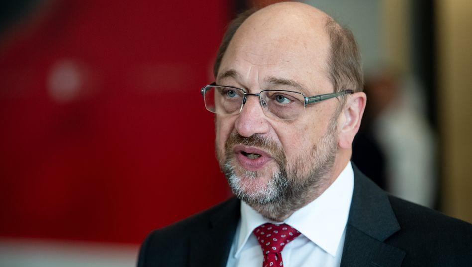Martin Schulz war bei der Bundestagswahl 2017 als Kanzlerkandidat der SPD angetreten, die SPD erreichte 20,5 Prozent der Stimmen