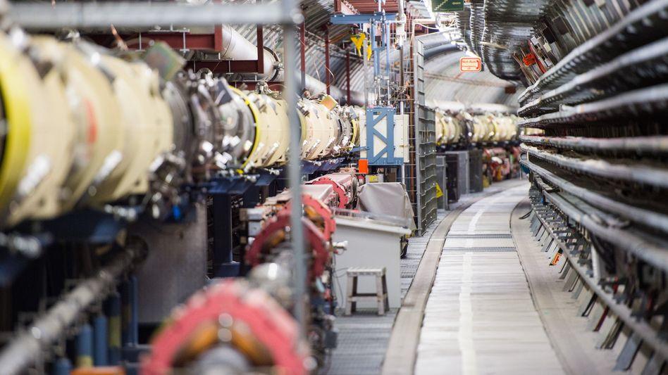 Teilchenbeschleuniger auf dem Desy-Gelände in Hamburg