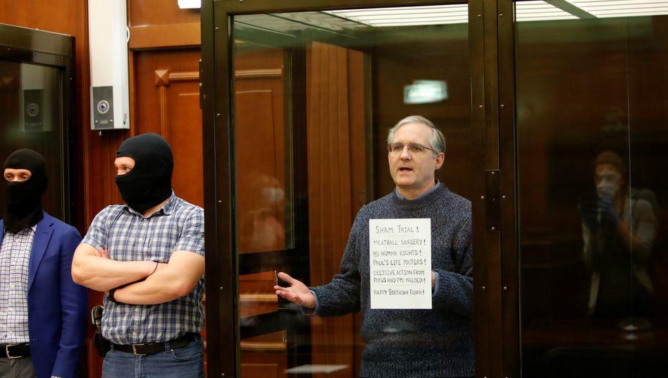 """US-Bürger Paul Whelan vor Gericht in Moskau: """"Dies ist ein politisches Gericht, ein Scheingericht"""""""