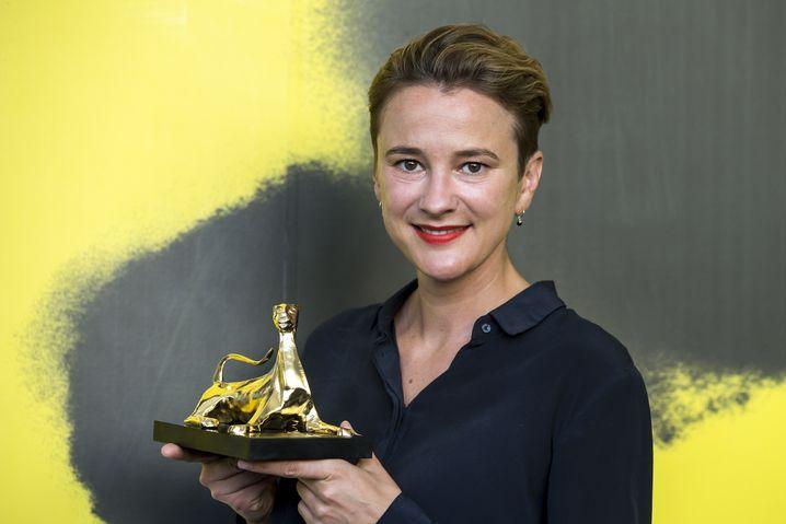 Eva Trobisch beim Filmfest von Locarno