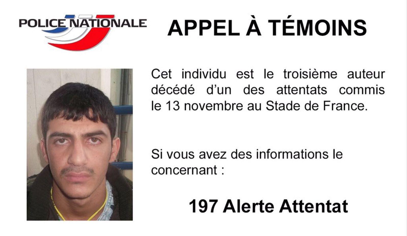 Attentäter Foto stade du france