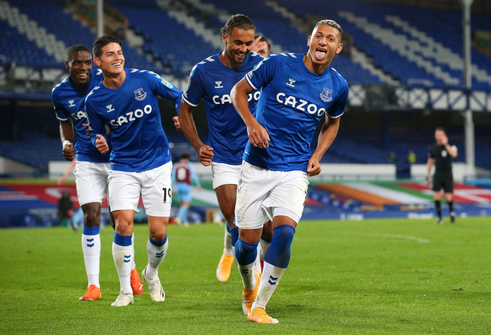 Everton v West Ham United - Carabao Cup Fourth Round