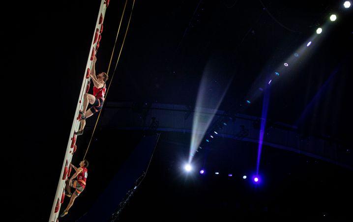 Speedkletterduell in Moskau (IFSC Climbing European Continental Championships, 2020)