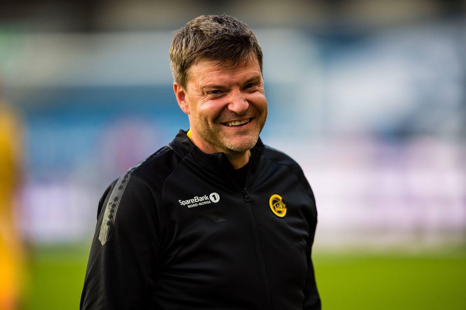 200625 Aasmund Karl Bjorkan, assistant coach of Bodo/Glimt, after the Eliteserien match between Rosenborg and Bodo/Glim