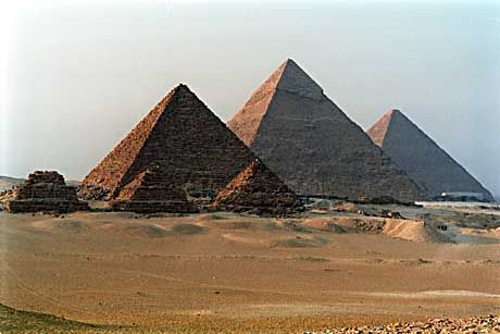 Pyramiden von Gizeh: Geheimnisvolles Innenleben