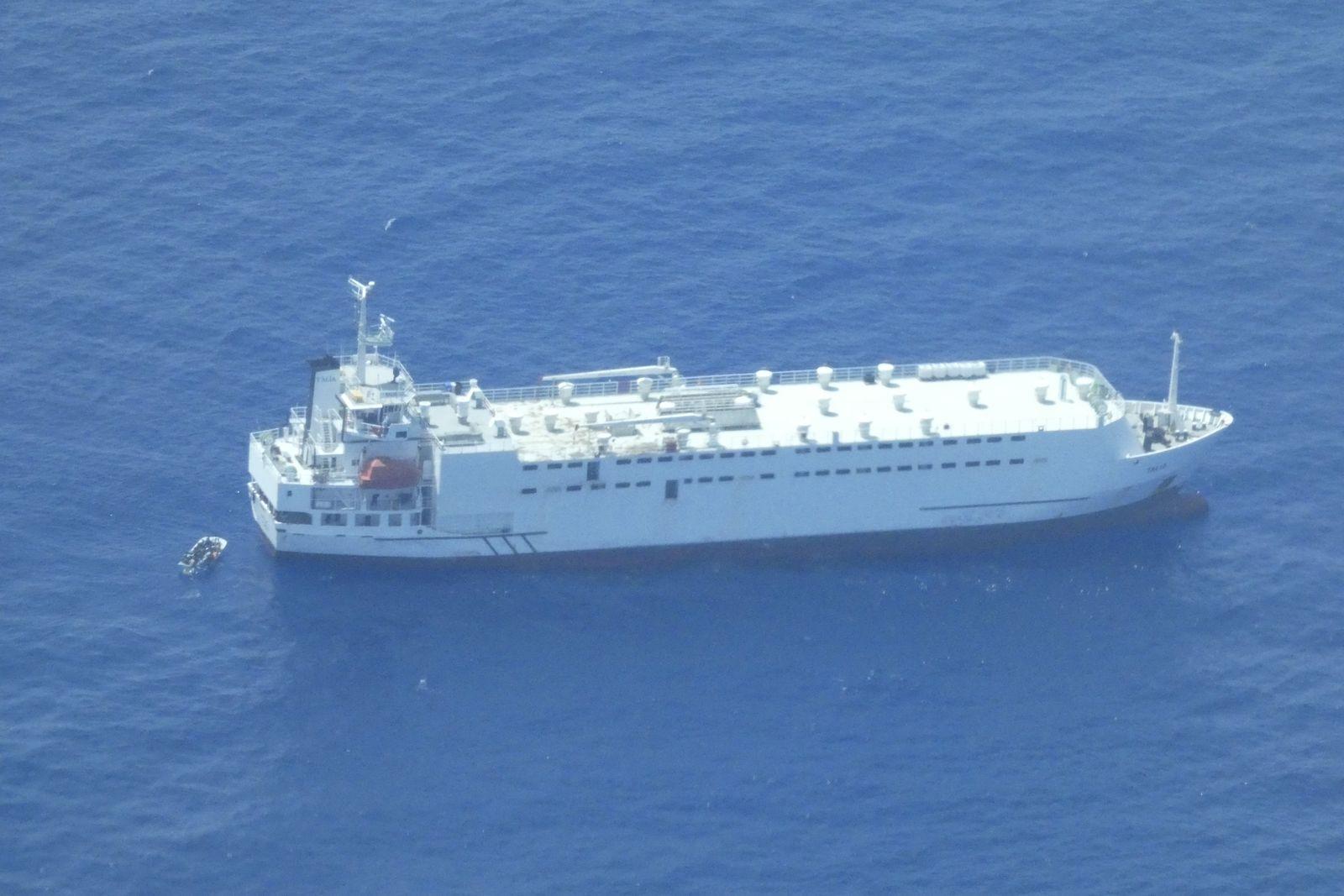 MV Talia/ Flüchtlinge/ Sea Watch