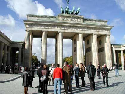 Standard für Stadtführer: Das Brandenburger Tor