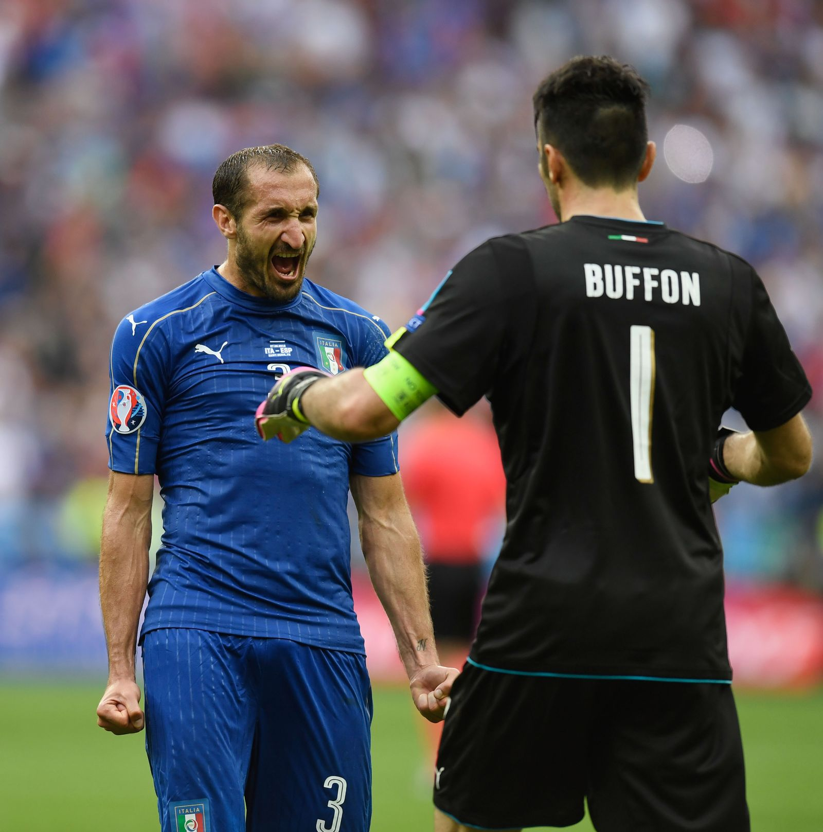 Buffon und Chiellini