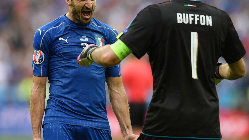 Chiellini und Buffon