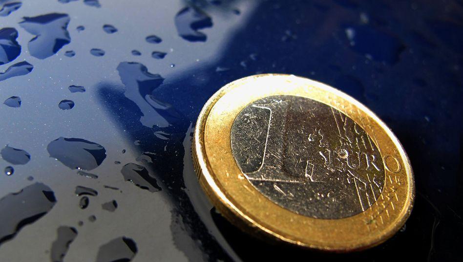 Euro-Münze: Im Vergleich zum US-Dollar so wertvoll wie lange nicht