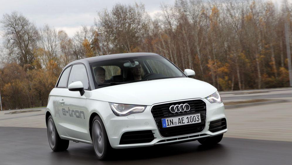 Audi A1 E-Tron: Kreiselnde Stromerzeugung