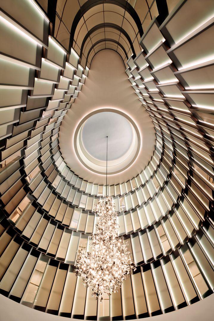 Atrium im The Fontenay