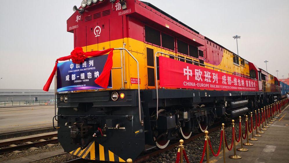 Seidenstraße: Erster direkter Güterzug von China nach Österreich