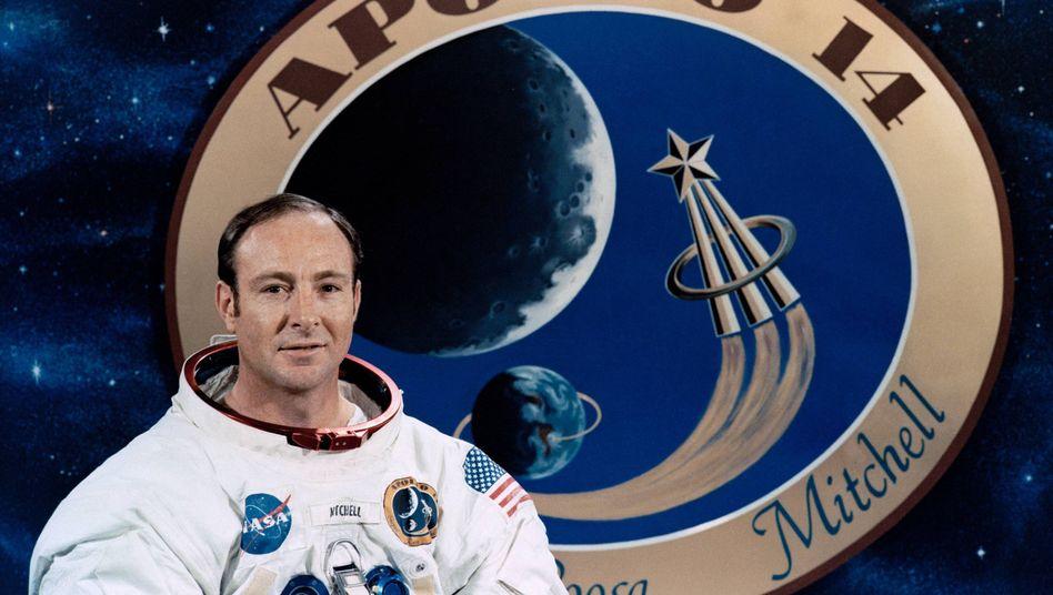 US-Astronaut Edgar Mitchell: Teilnehmer der Apollo-14-Mission vom 5. Februar 1971