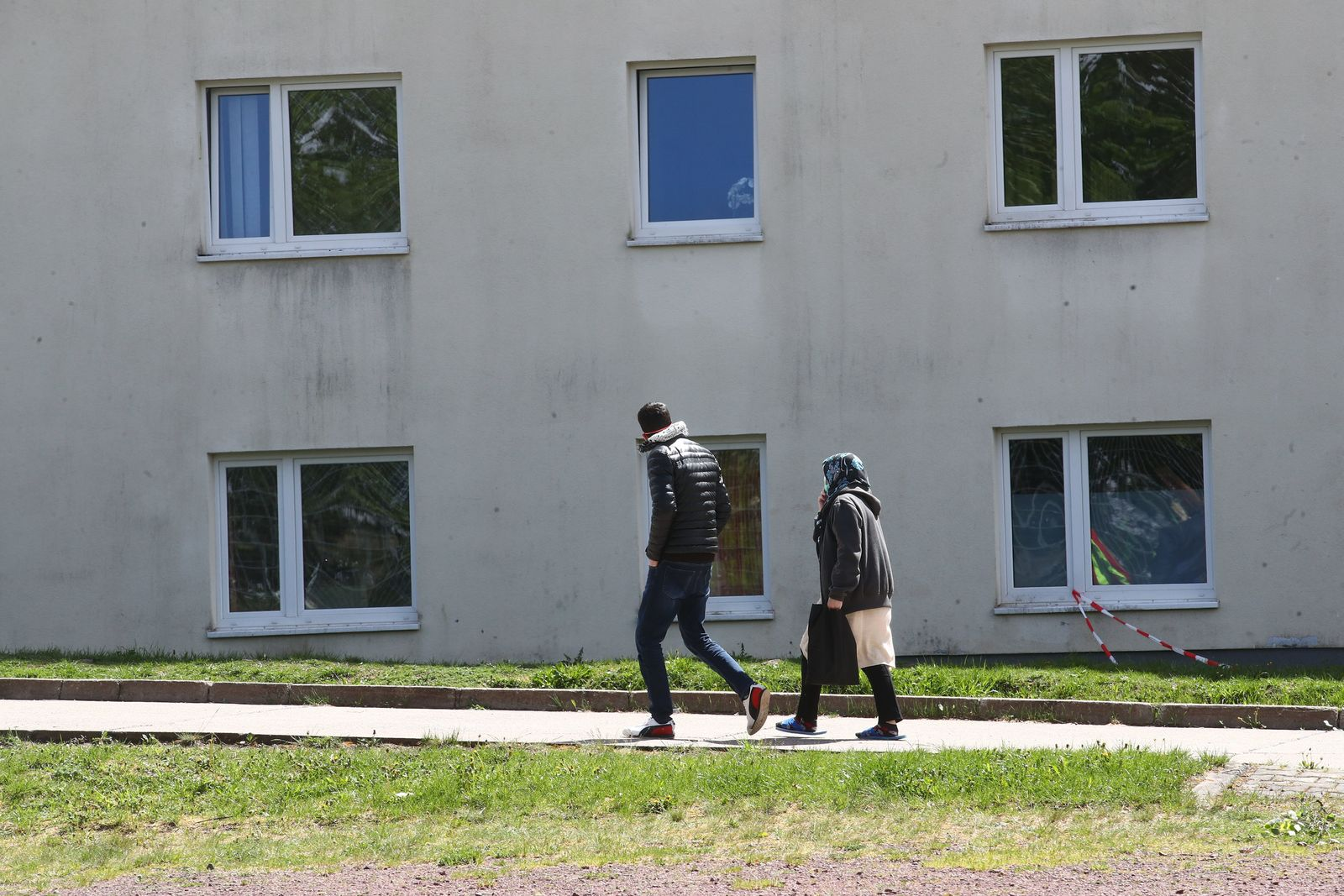 Flüchtlingsheim Suhl