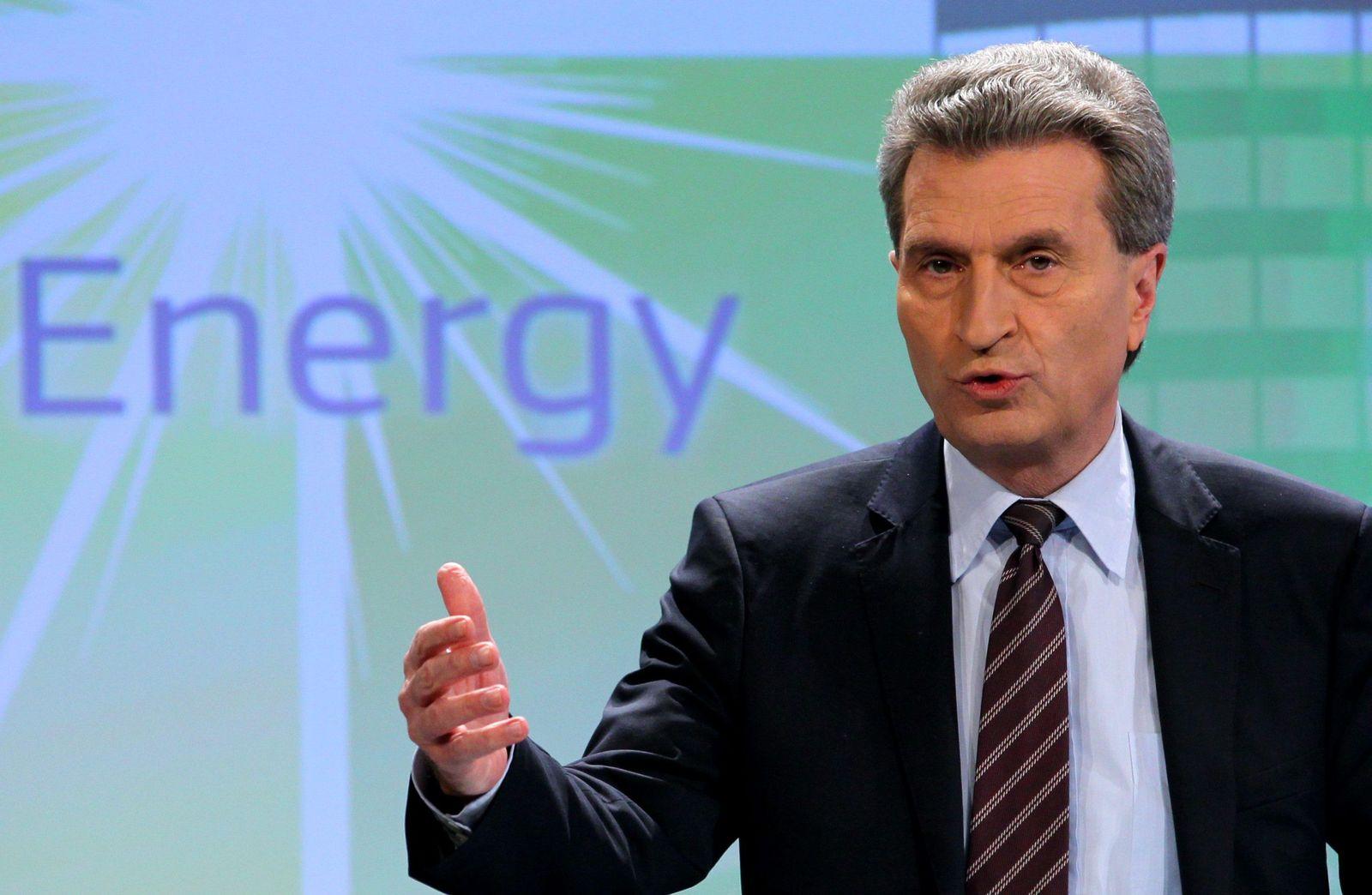 Guenther Oettinger EU-Kommissar Energie