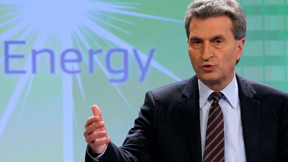 EU-Energiekommissar Oettinger: 5,8 Milliarden Euro für Infrastruktur
