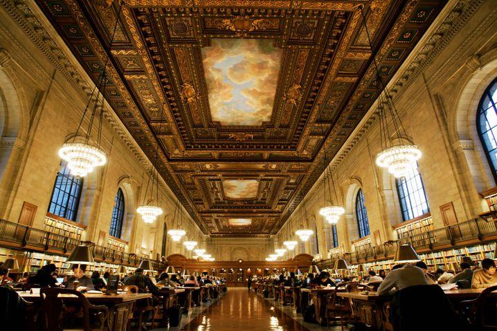 Lesesaal der New York Public Library