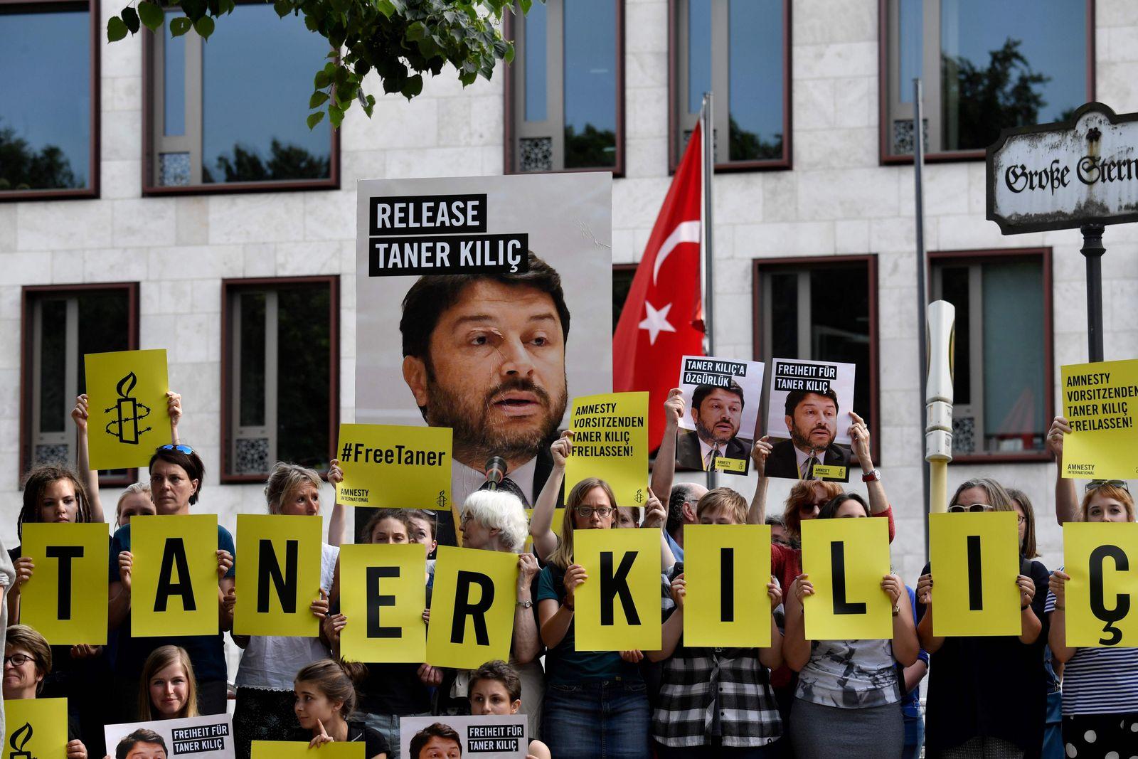 Amnesty Taner Kilic Türkei