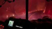 Fahrt durch die Flammenhölle