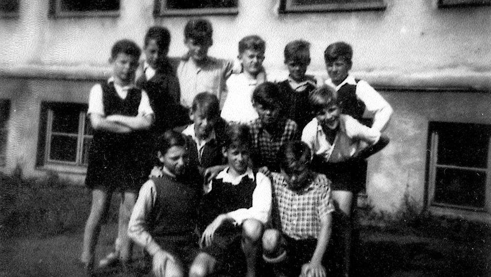 Im KLV-Lager kurz vor Kriegsende 1945