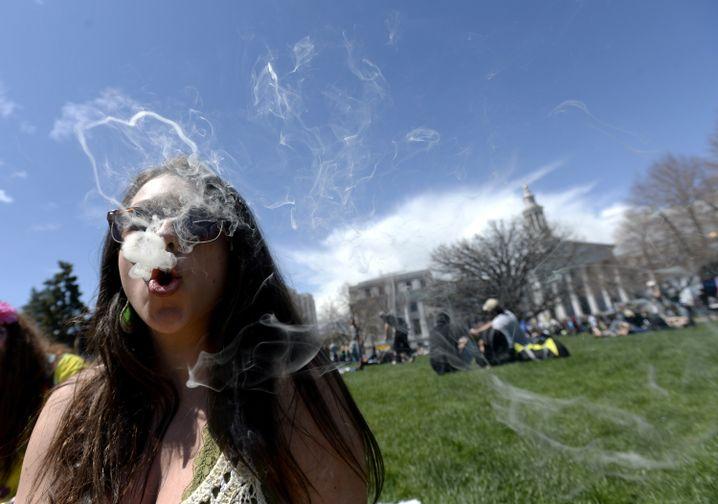 Marihuana-Konsum (in Denver): Forderung nach einer neuen Drogenpolitik