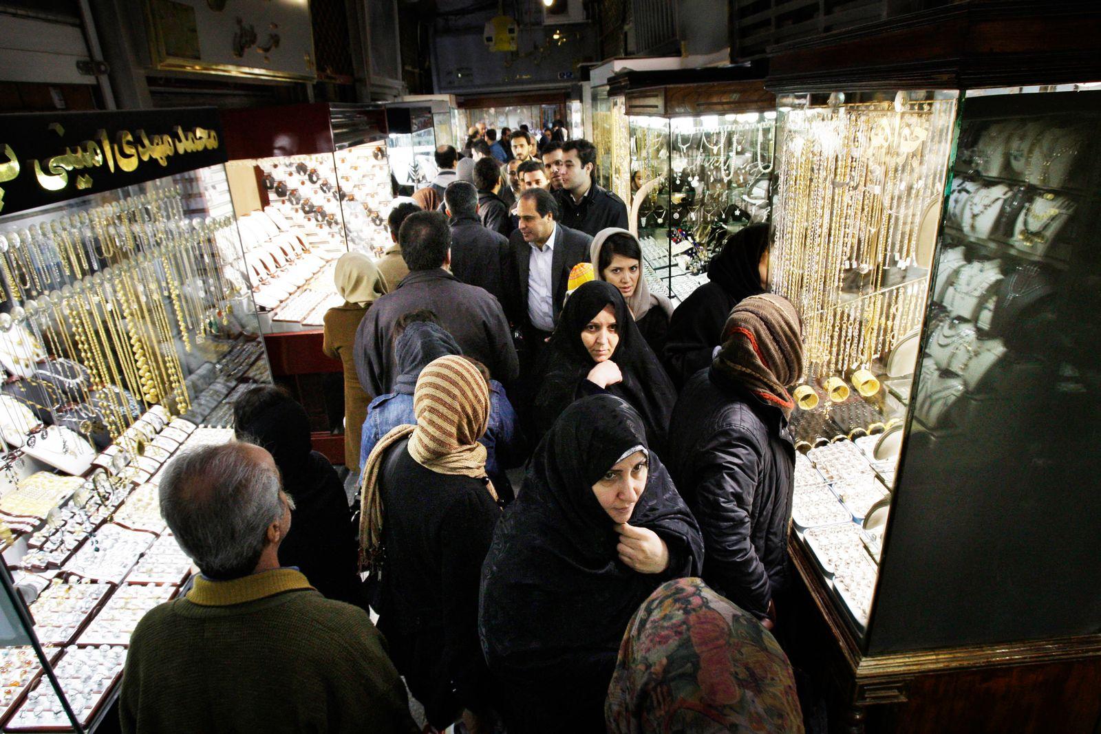 Iran / Konjunktur / Gold / Wirtschaft