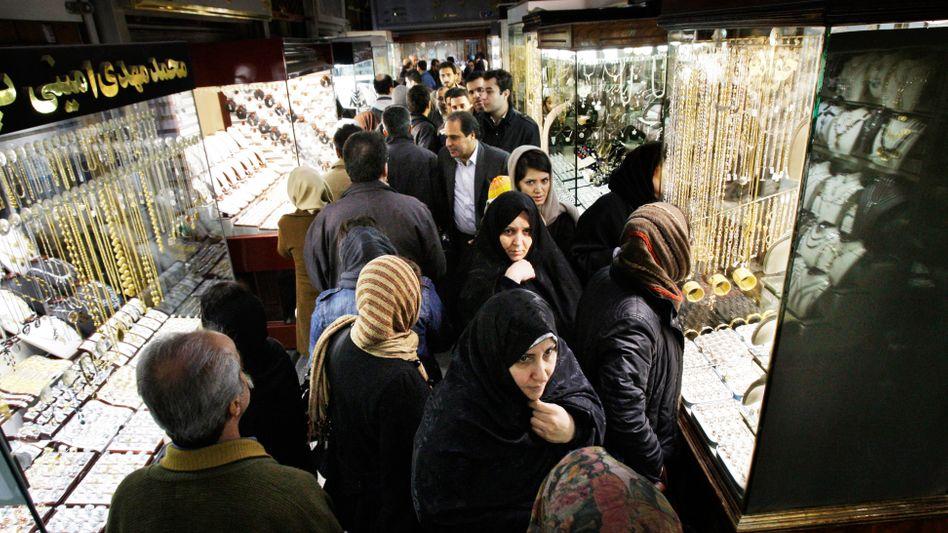 Goldbasar in Teheran
