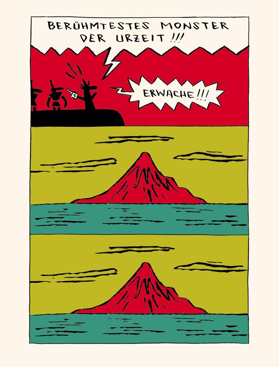 EINMALIGE VERWENDUNG Kultur/ Comics/ Das Ritual/ Nicolas Mahler