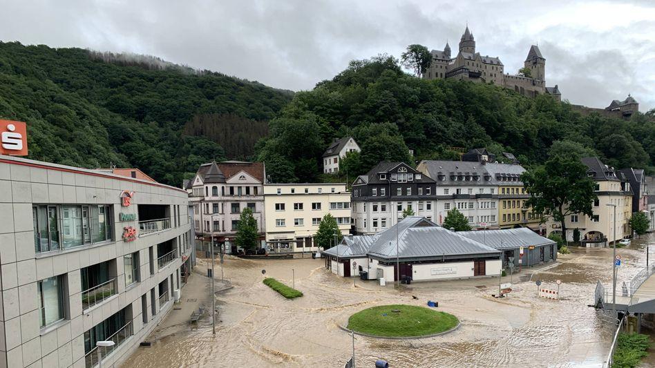 Überflutung in Altena