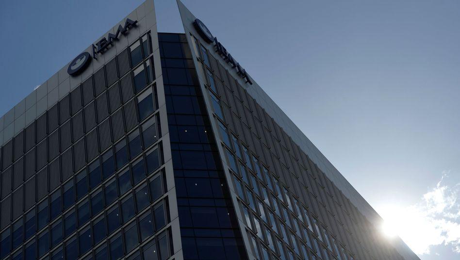 Hauptquartier der Europäischen Arzneimittel-Agentur (EMA) in London