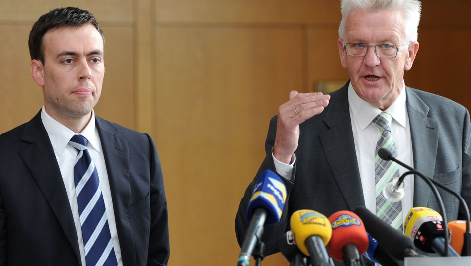Vize-Regierungschef Schmid, Ministerpräsident Kretschmann: Wie weiter mit S21?