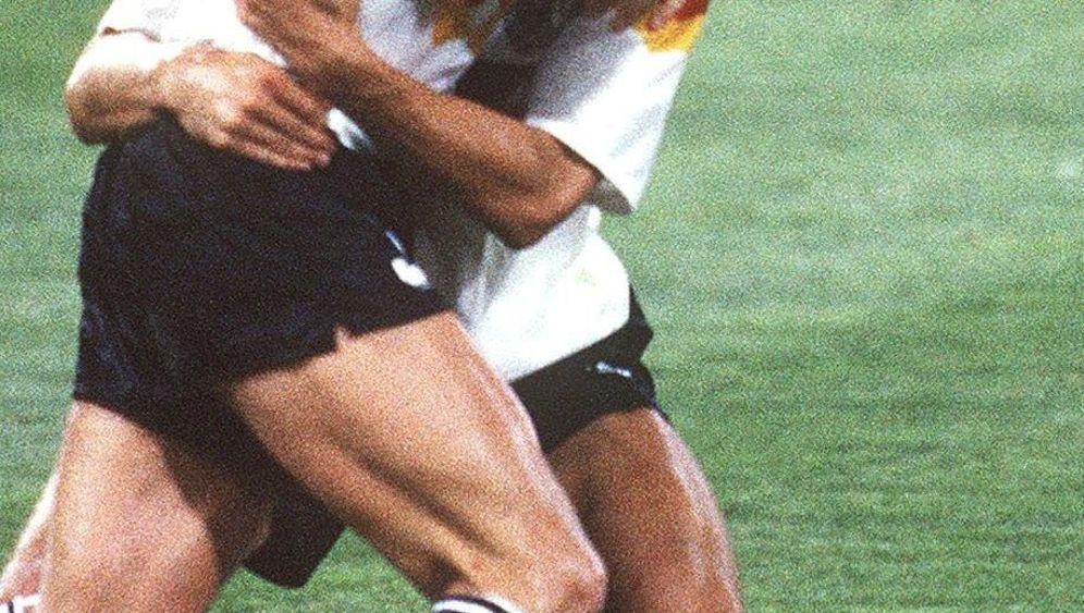 """Fußball-WM 1990: """"Die ganze Welt schaute auf meinen rechten Fuß"""""""