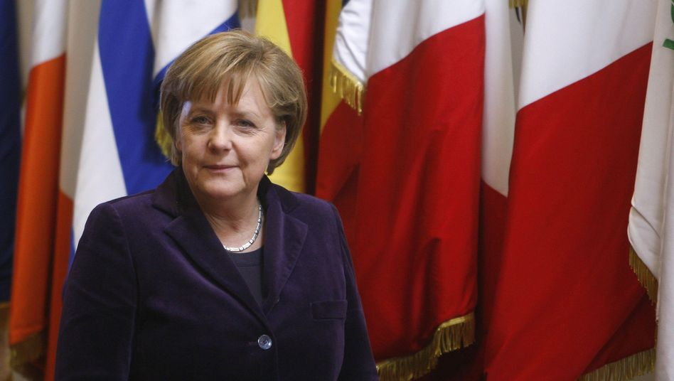 German Chancellor Angela Merkel after the summit in Brussels.