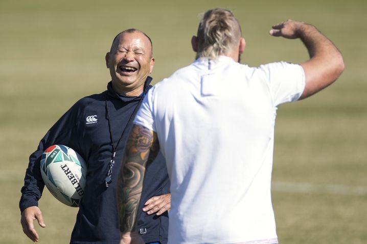 Mit guter Laune und einem Plan: Englands Nationaltrainer Eddie Jones