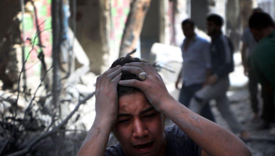 Kriegsopfer in Aleppo