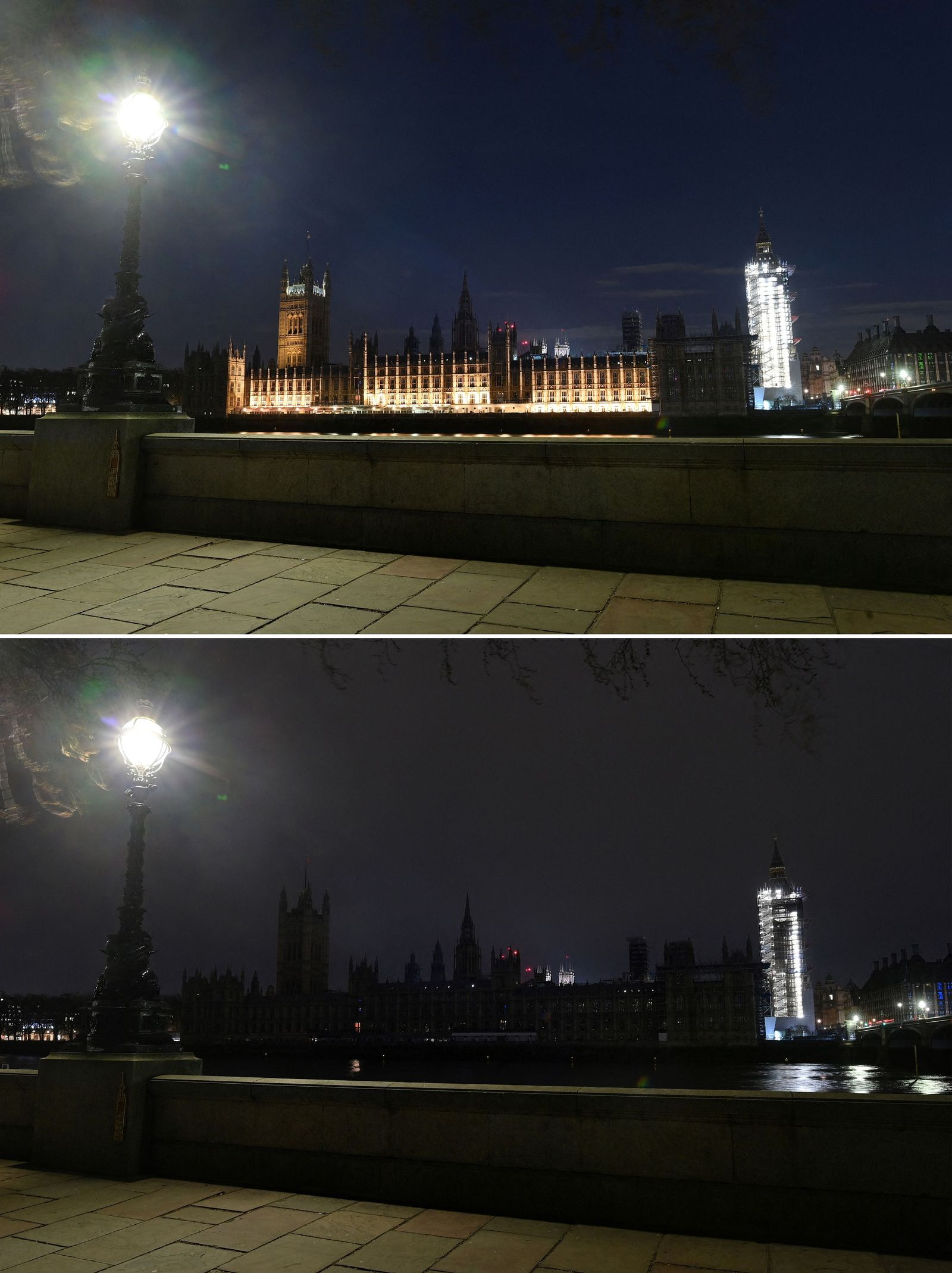 COMBO-BRITAIN-CLIMATE-ENVIRONMENT-EARTH HOUR